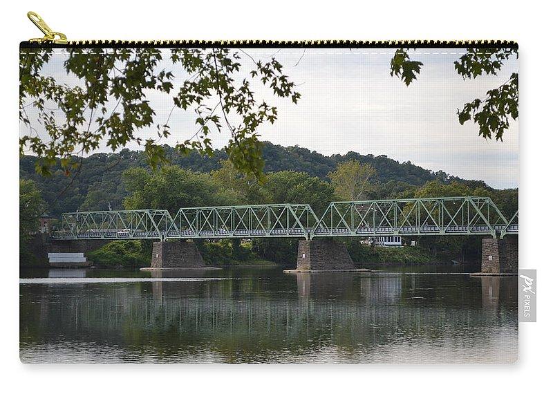 Bridge Carry-all Pouch featuring the photograph Bridge by Meganne Peck