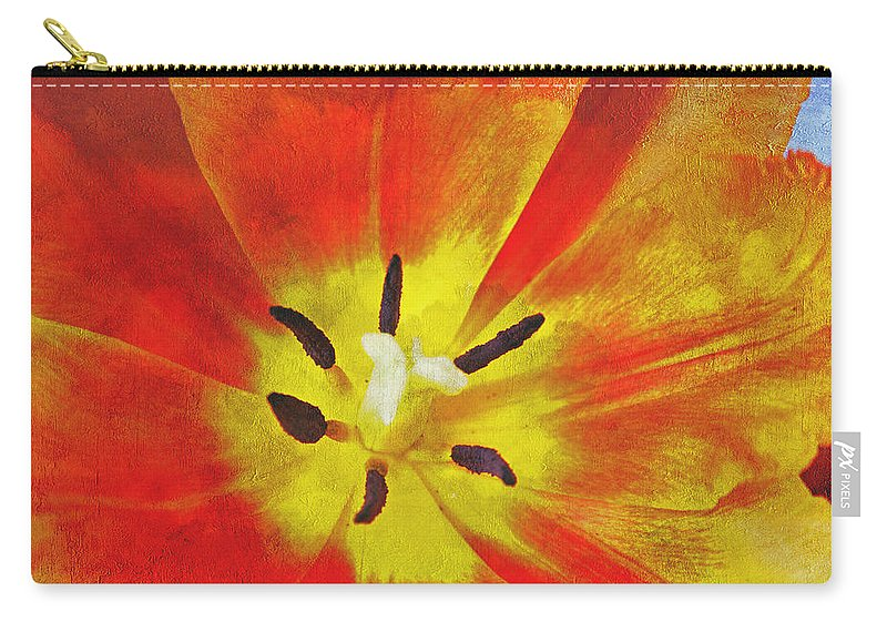 Brighter Days Carry-all Pouch featuring the photograph Brighter Days by Linda Sannuti