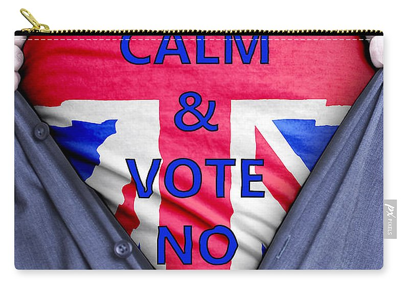 Scotland Carry-all Pouch featuring the photograph British Businessman Votes No by Antony McAulay