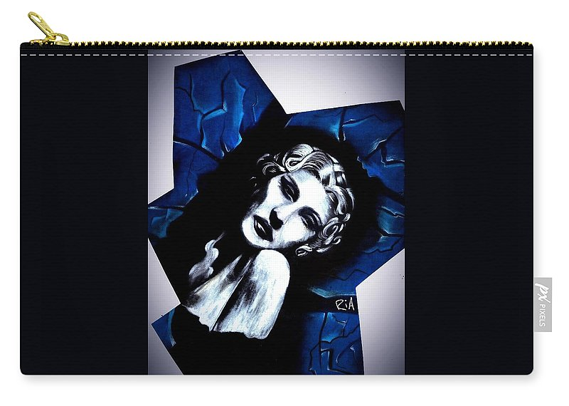 Beautiful Carry-all Pouch featuring the photograph Broke- In by Artist RiA
