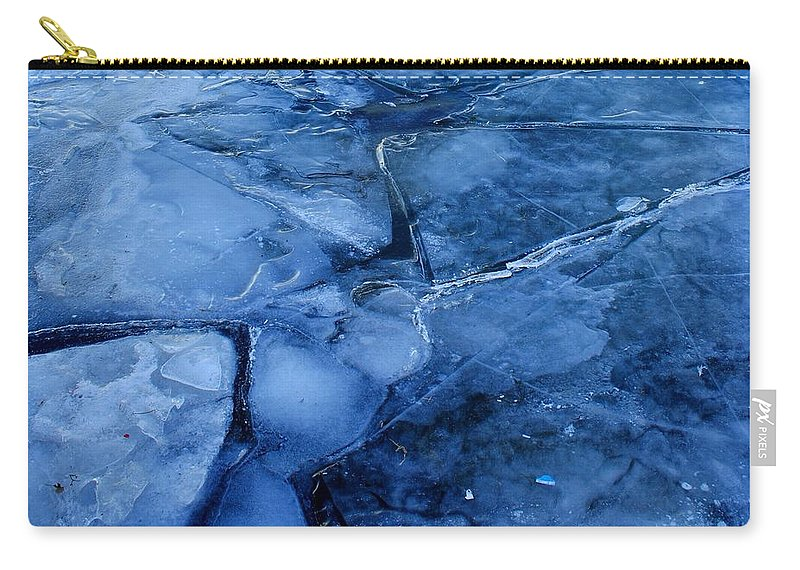 Broke Carry-all Pouch featuring the photograph Broken by Frozen in Time Fine Art Photography