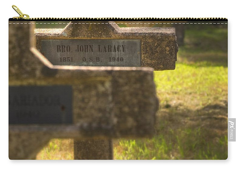 Sacred Carry-all Pouch featuring the photograph Brother John by Ricky Barnard