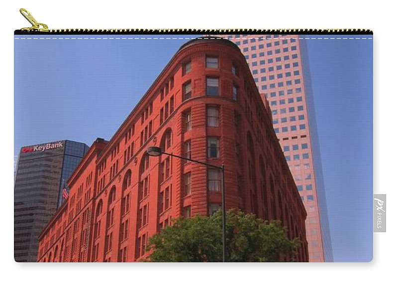 Brown Palace Hotel Carry-all Pouch featuring the photograph Brown Palace Hotel In Denver Colorado by John Malone