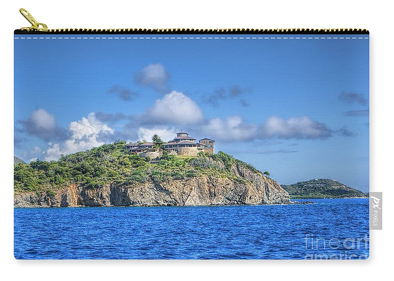 Buck Island Carry-all Pouch featuring the photograph Buck Island by Olga Hamilton