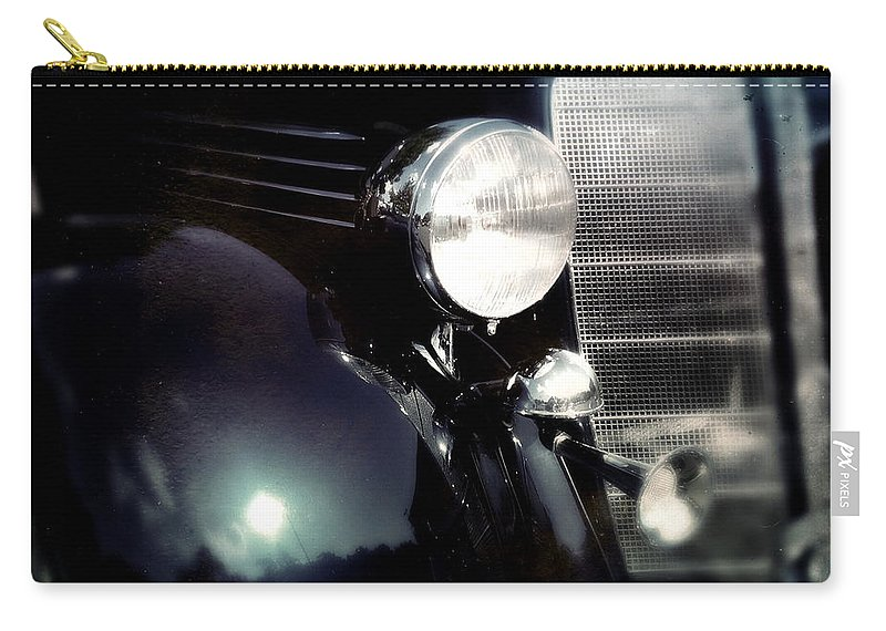 Classic Carry-all Pouch featuring the photograph Buick Fender by Tim Nyberg