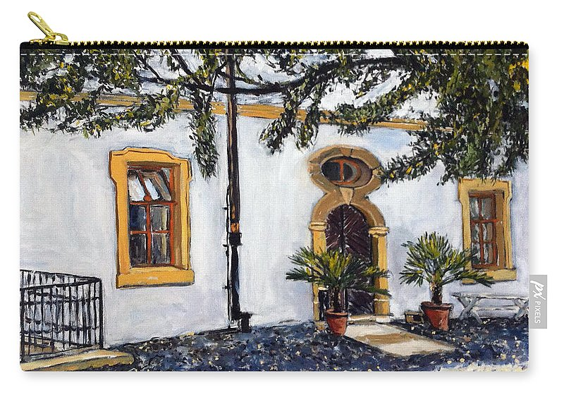 Landscape Carry-all Pouch featuring the painting Bukac by Pablo de Choros
