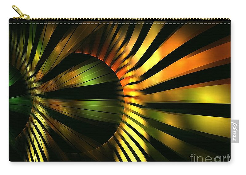 Apophysis Carry-all Pouch featuring the digital art Bulb by Kim Sy Ok