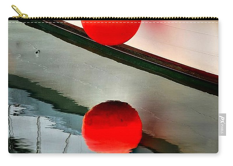 Abstract Carry-all Pouch featuring the photograph Buoy by Lauren Leigh Hunter Fine Art Photography