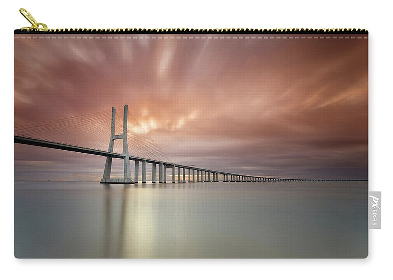 Tranquility Carry-all Pouch featuring the photograph Burn, Fire Burn by Landscape Photography