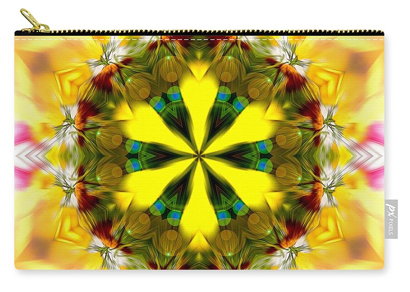 Sacredlife Mandalas Carry-all Pouch featuring the photograph Burning Empathy by Derek Gedney