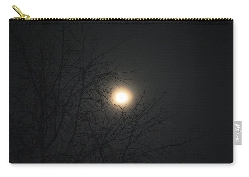 Carry-all Pouch featuring the photograph Burning In The Night by Dan McCafferty