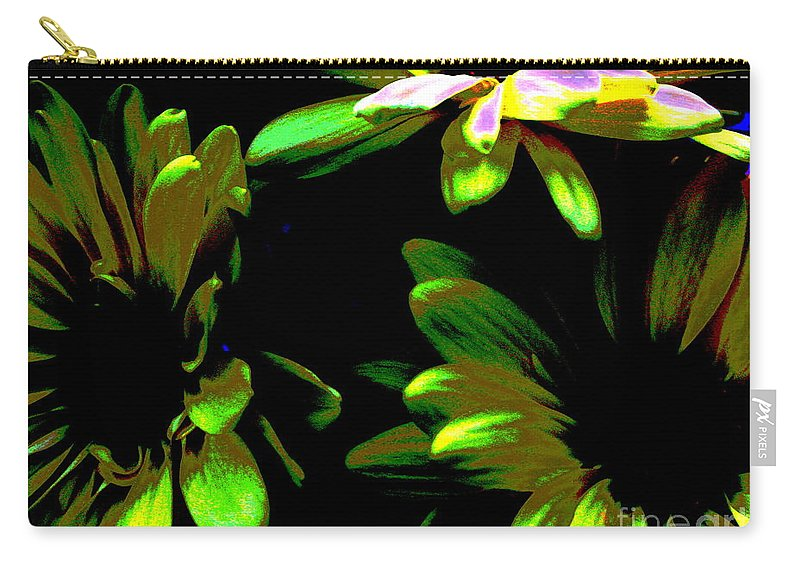 Art For The Wall...patzer Photography Carry-all Pouch featuring the photograph Burst by Greg Patzer