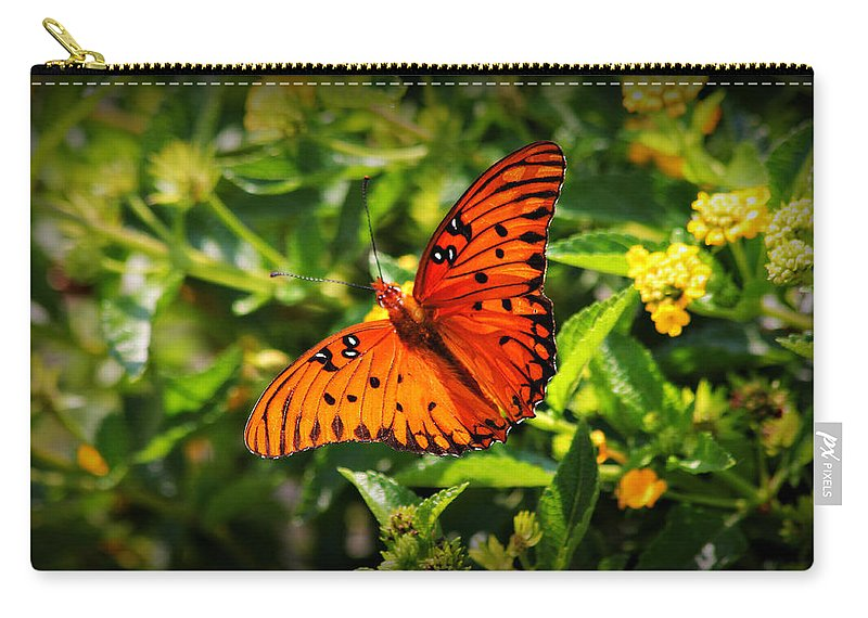 Butterfly Carry-all Pouch featuring the photograph Butterfly 2 by Reid Callaway