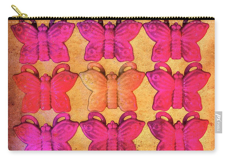 Butterflies Carry-all Pouch featuring the photograph Butterfly Beads by Richard J Cassato