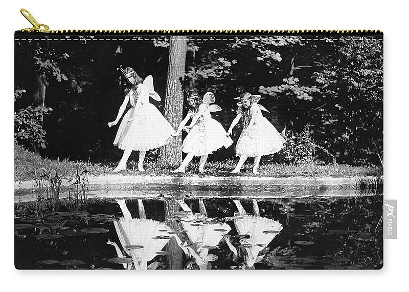 1920 Carry-all Pouch featuring the photograph Butterfly Dance, 1920 by Granger