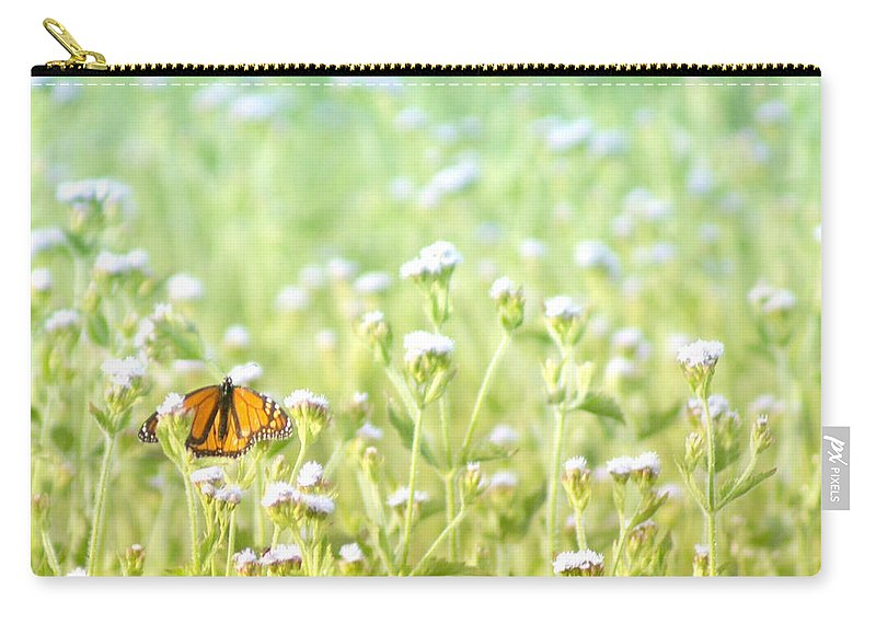 Butterfly Carry-all Pouch featuring the photograph Butterfly Dreams by Holly Kempe