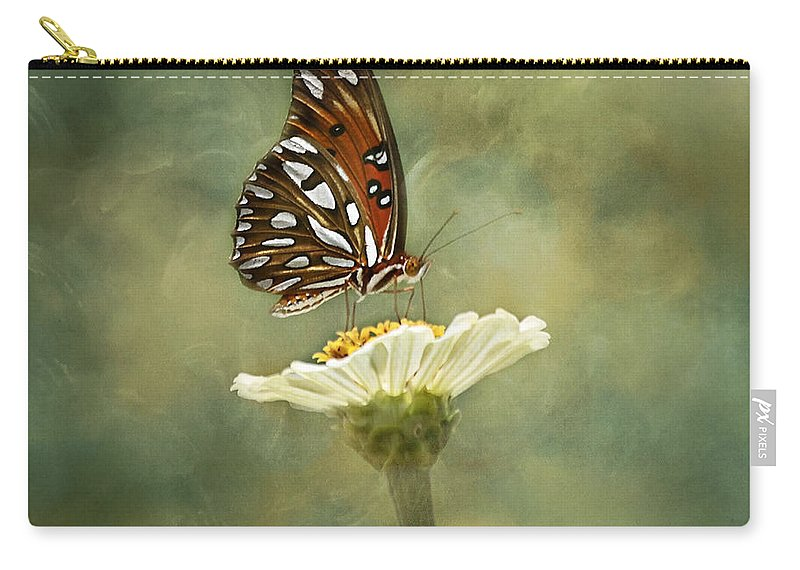 Butterfly Carry-all Pouch featuring the photograph Butterfly Dreams by Kim Hojnacki