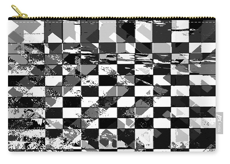 Carry-all Pouch featuring the photograph Bw Pattern by David Pantuso