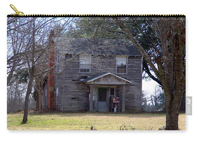Old Carry-all Pouch featuring the photograph Bygone Era by Darrell Clakley