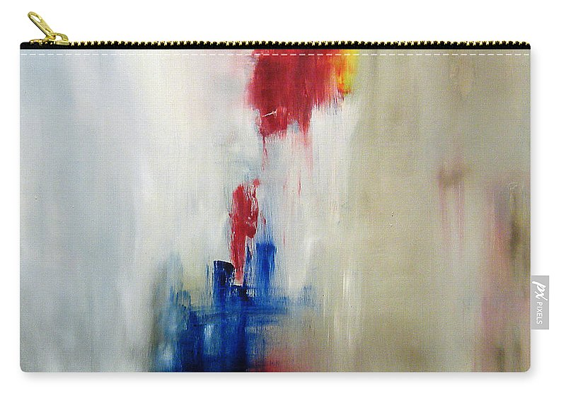 Abstract Painting Carry-all Pouch featuring the painting C-15 by Jeff Barrett