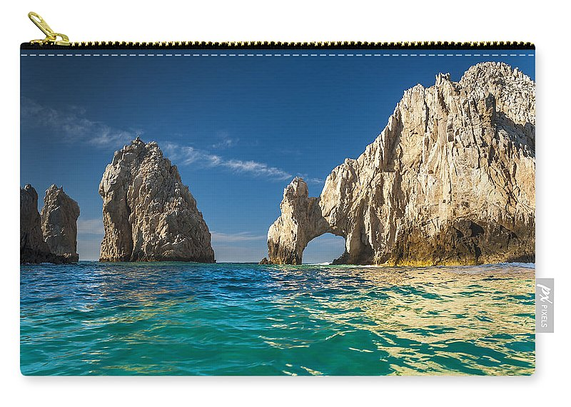Los Cabos Carry-all Pouch featuring the photograph Cabo San Lucas by Sebastian Musial