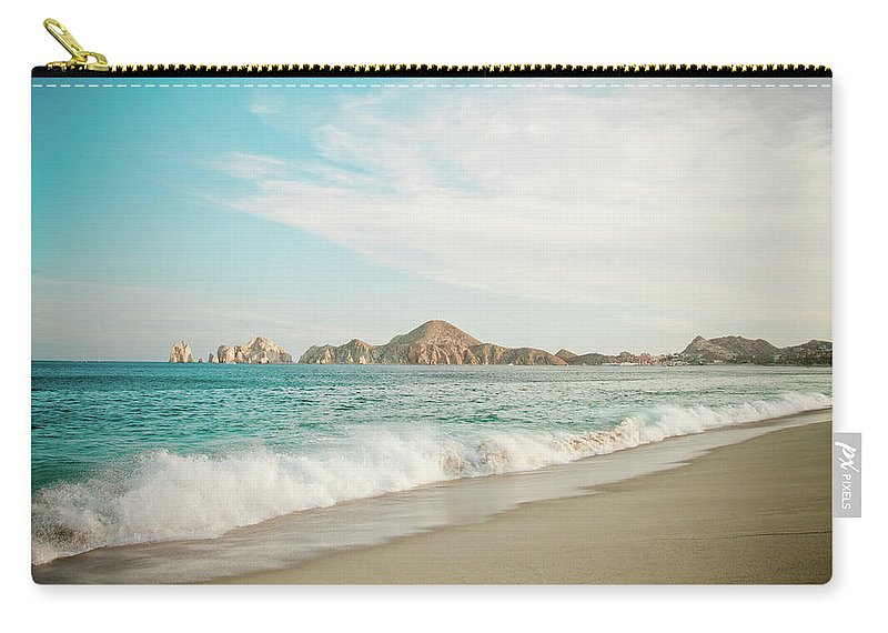 Water's Edge Carry-all Pouch featuring the photograph Cabos San Lucas by Christopher Kimmel