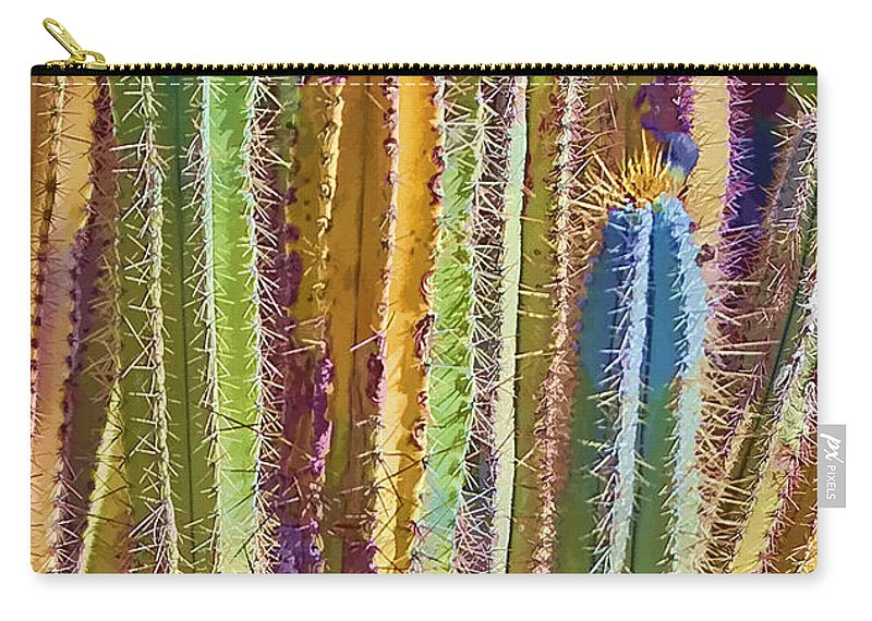 Plant Carry-all Pouch featuring the photograph Cactus by Marcia Colelli