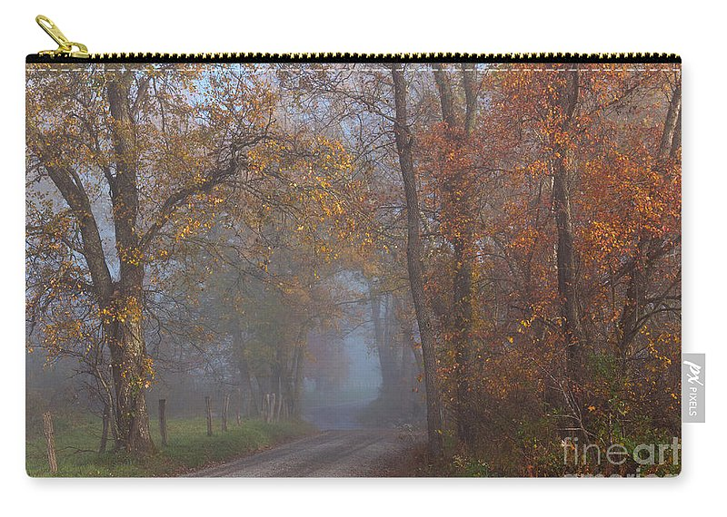 Carry-all Pouch featuring the photograph Cades Cove Color by Douglas Stucky