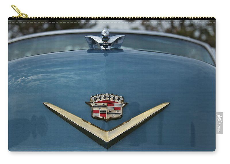 Antique Carry-all Pouch featuring the photograph Cadillac by Jack R Perry