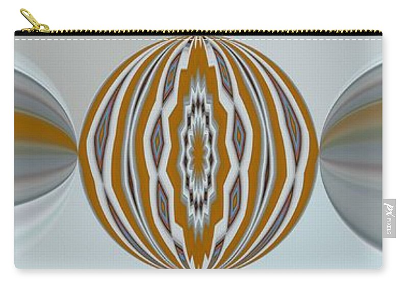 Circles Carry-all Pouch featuring the digital art Caelum by John Holfinger