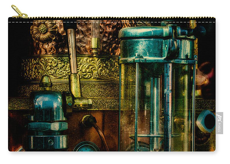 Coffee Carry-all Pouch featuring the photograph Cafe Italiano by Chris Lord