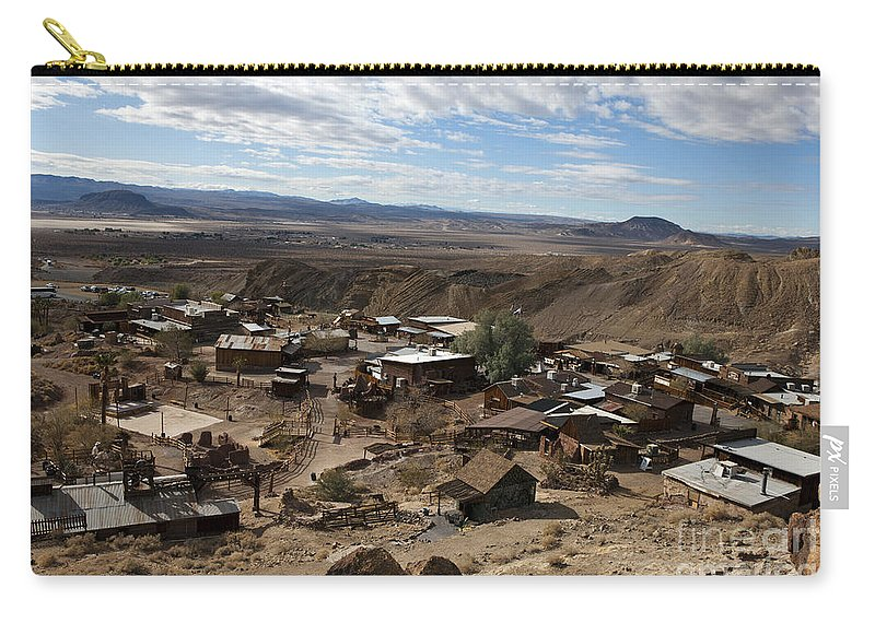 Travel Carry-all Pouch featuring the photograph Calico Ghost Town California by Jason O Watson