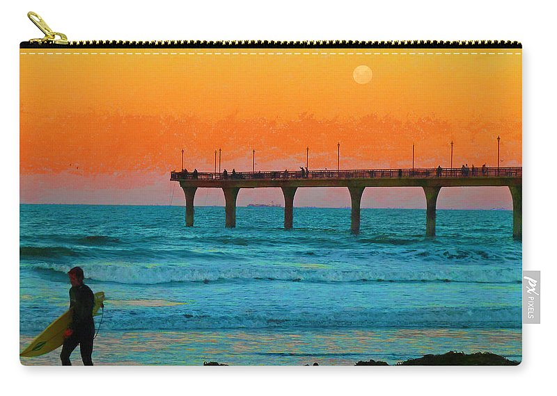 California Dreaming Carry-all Pouch featuring the photograph California Dreamin' by Steve Taylor