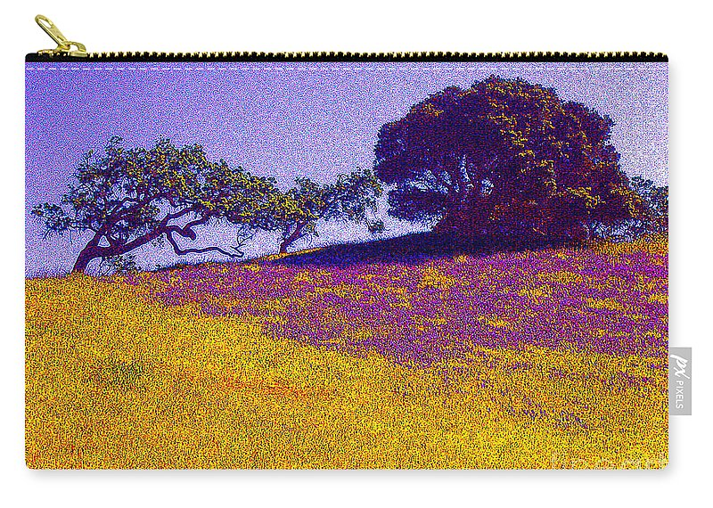 California Carry-all Pouch featuring the photograph California Hills by Jerome Stumphauzer