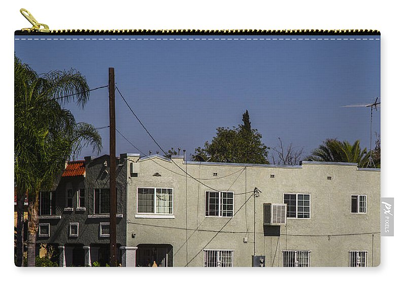 Route 66 Carry-all Pouch featuring the photograph California Living by Angus Hooper Iii