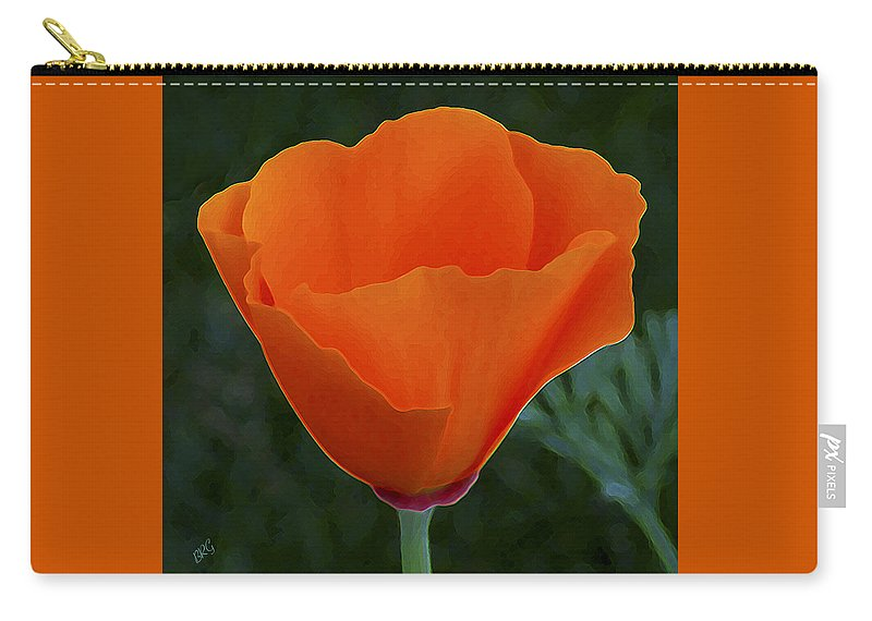California Poppy Carry-all Pouch featuring the photograph California Poppy Spectacular by Ben and Raisa Gertsberg
