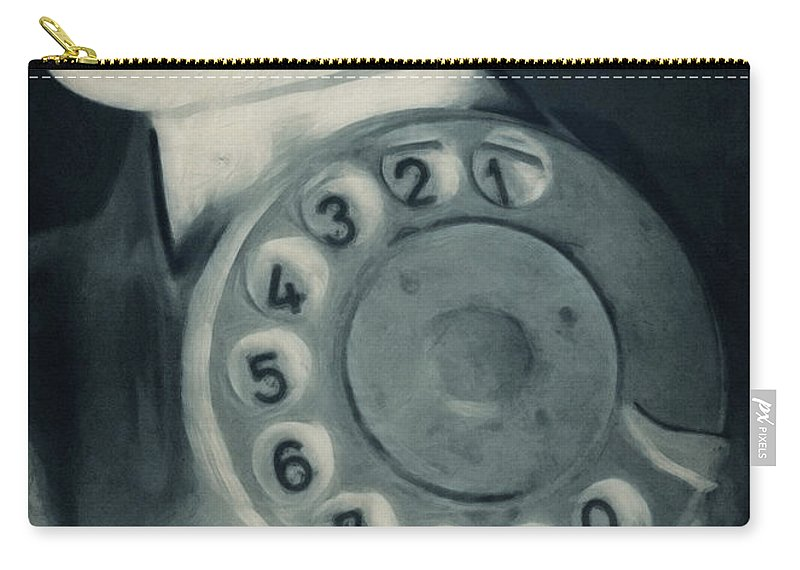 Photo Carry-all Pouch featuring the photograph Call Me Yesterday by Jutta Maria Pusl