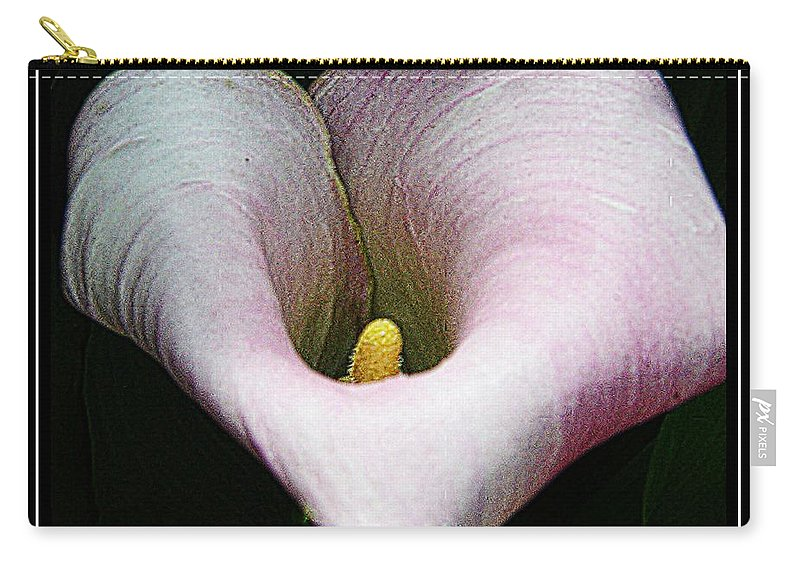Calla Carry-all Pouch featuring the photograph Calla Lily by Kathleen Struckle