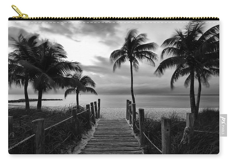 Florida Carry-all Pouch featuring the photograph Calm Before Storm by Stefan Mazzola