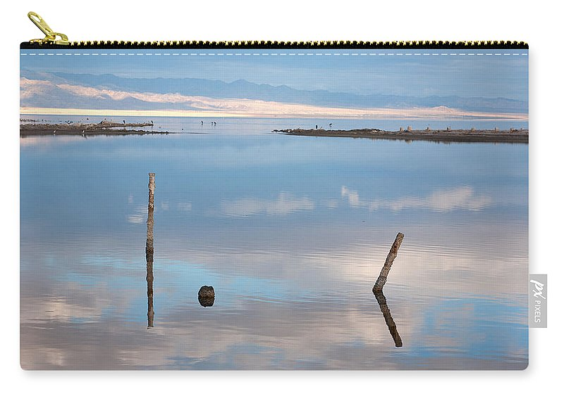 Big Sky Carry-all Pouch featuring the photograph Calm by Peter Tellone
