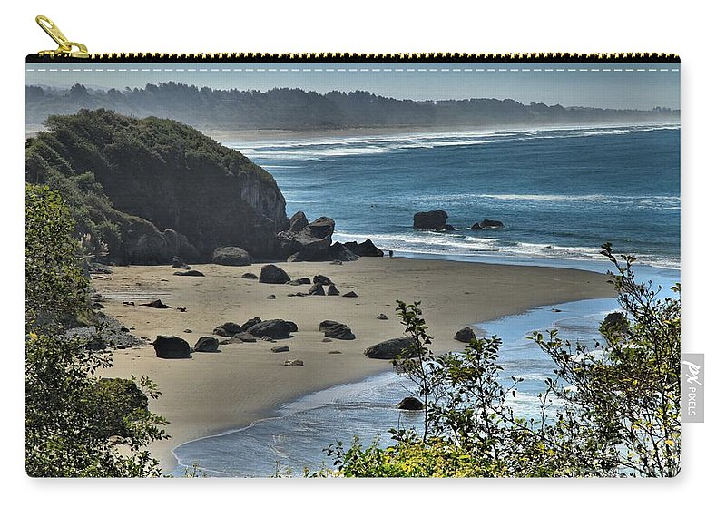 Trinidad California Carry-all Pouch featuring the photograph Calm Trinidad Morning by Adam Jewell