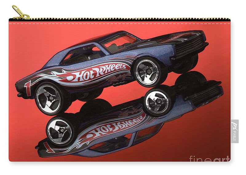 Car Carry-all Pouch featuring the photograph Camaro4-2 by Gary Gingrich Galleries