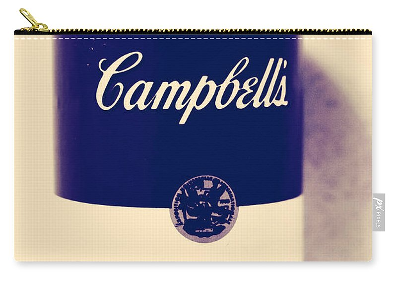 Campbells Soup Carry-all Pouch featuring the photograph Campbells Soup by The Artist Project