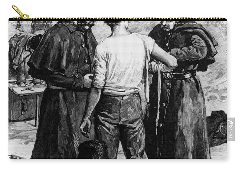 1885 Carry-all Pouch featuring the photograph Canada: Riel Rebellion, 1885 by Granger