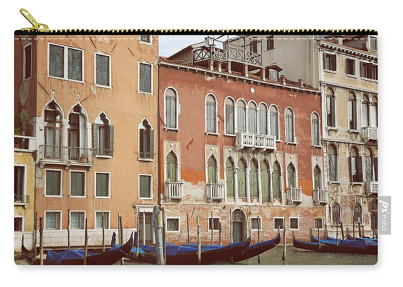 Venice; Italy; Venetian; Travel; Architecture; Destination Carry-all Pouch featuring the photograph Canale Grande by Jaroslav Frank