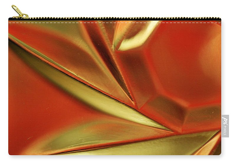 Crystal Carry-all Pouch featuring the photograph Candle Holder 14 by Mary Bedy