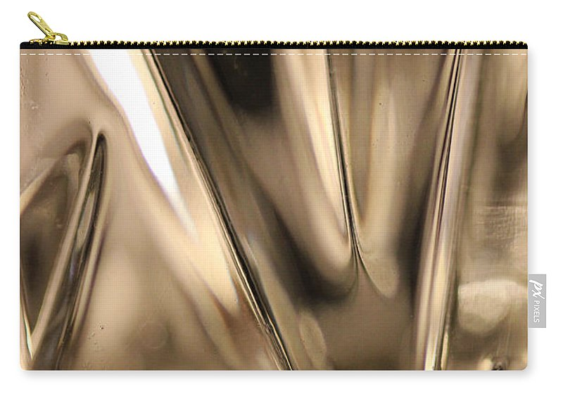 Crystal Carry-all Pouch featuring the photograph Candle Holder 3 by Mary Bedy
