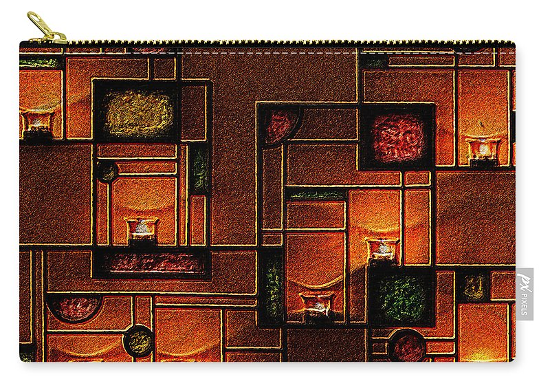 Photo Carry-all Pouch featuring the photograph Candlelight by Paula Ayers