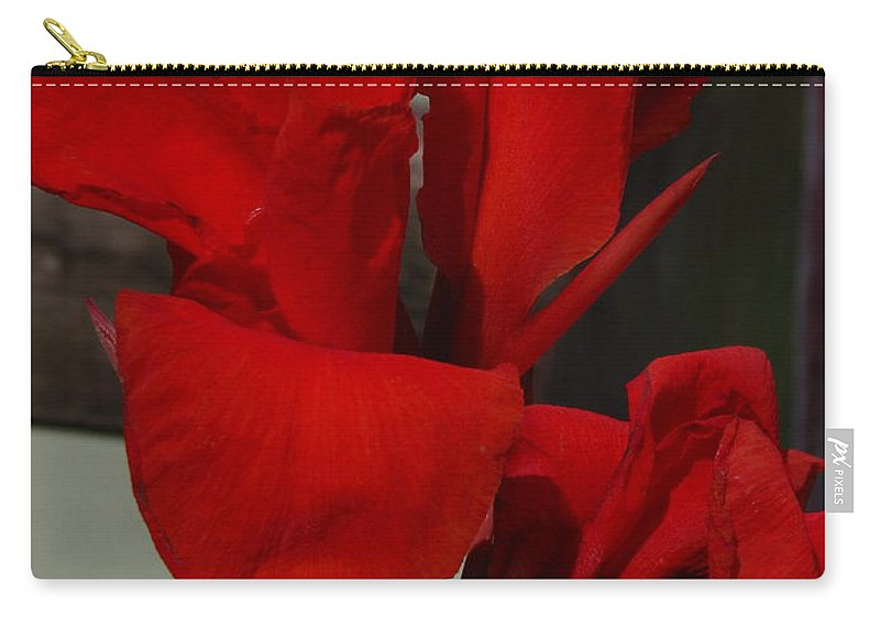 Patzer Carry-all Pouch featuring the photograph Canna by Greg Patzer