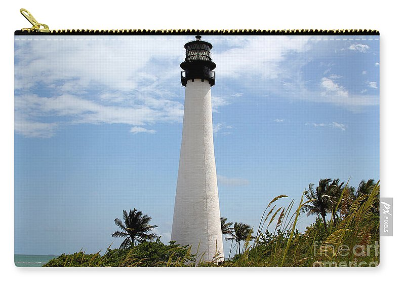 Key Biscayne Carry-all Pouch featuring the photograph Cape Forida by Carey Chen